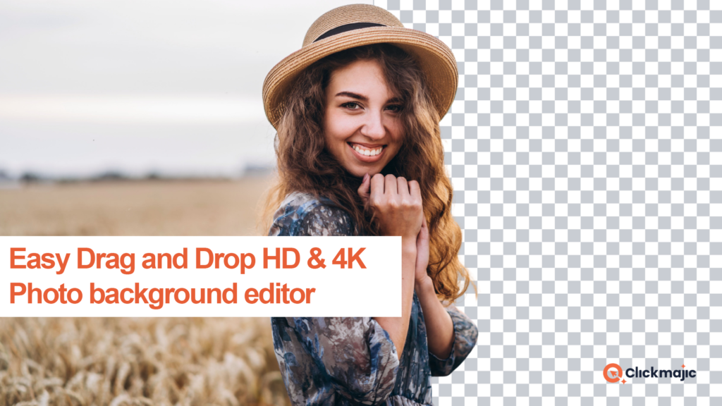 HD & 4K Photo Background Remover Drag & Drop Editor